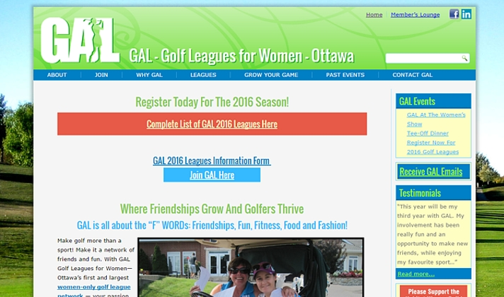 GAL - Golf Leagues for Women