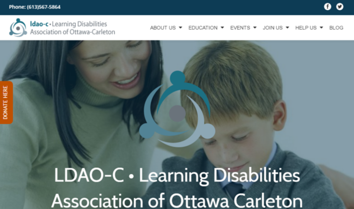 Learning Disabilities Association of Ottawa Carleton